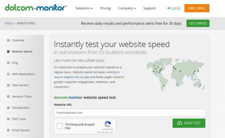 dotcom-monitor yaviet